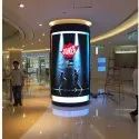 Indoor P3 LED Floor Double Sided Poster Display Stands, High Definition Full Color P3