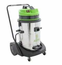 Wet & Dry Vacuum Cleaner 2 motor Aspiro 730 Stainless Steel