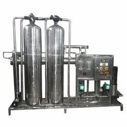 SS Industrial RO Plant 500 LPH