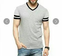 Plain Men's Cotton T Shirt