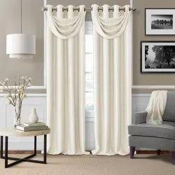 White Plain Window Curtain