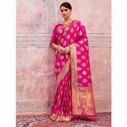 Top Dyed Saree