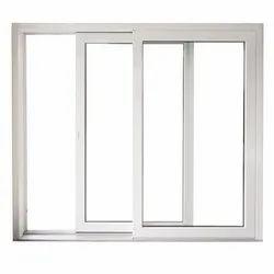 Three Track UPVC Sliding Window
