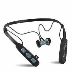 Wireless Black Neckband Headphone