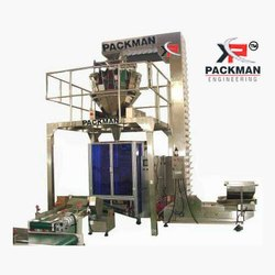Fully Automatic Multi Head with Collar Type Pouch Packing Machine, Pouch Capacity: 200-400 Grams