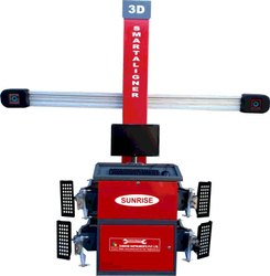 Wheel Alignment Machine And Balancer