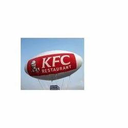 Advertising Sky Balloon for KFC Restaurant