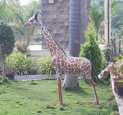 Giraffe FRP Statue (Code A-12)