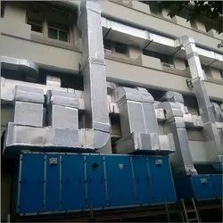 Ms AHU Industrial Ducting Work, For Cooling