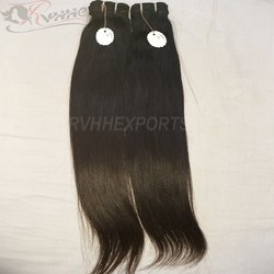 Single Drawn Machine Weft Indian Human Hair
