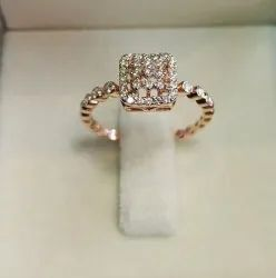 Italian Diamond Ring
