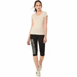 Ladies Free Style Running Capri