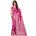 Ladies Jacquard Silk Saree