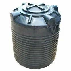 Black Plastic Triple Layer Water Storage Tank, Storage Capacity: 1000L