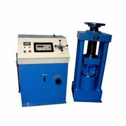 Electric Cube Testing Machine