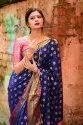 Festive Wear Designer Banarasi Sarees, with Blouse Piece