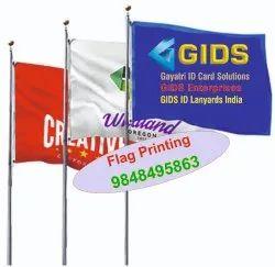 Pole Flags Printing
