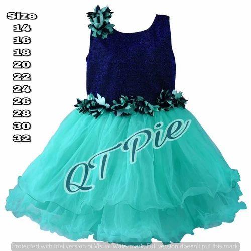f818b2b57b67 QT Pie Baby Girls Party Wear Frock - SS Lifestyle, Bengaluru   ID ...