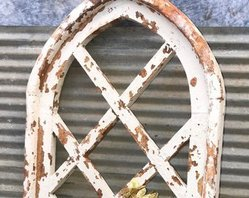 Arched Wooden Window