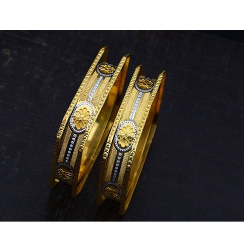 Golden Fancy CNC Bangles