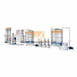 Semi Automatic Carbonated Soda Soft Drink Plant