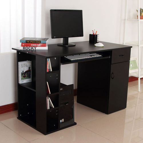Computer Table Wit Drawer Cpu Shelf