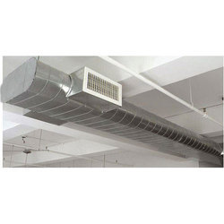 Aluminium Flat Oval Air Conditioning Duct, 100-110 Ton, for Industrial Use