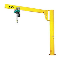 Mild Steel Pillar Mounted Jib Crane