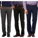 Gents Cotton Formal Plain Pant, Size: 30-36
