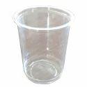 Plastic Plain Disposable Transparent Glass