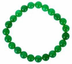 Kesar Zems Green Akik (Agate) Bracelet 100 and Natural