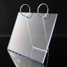 Acrylic Clear Calendar Display Stand