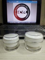 Round Acrylic Cream Jars