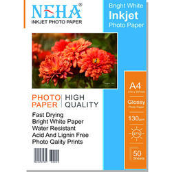 130 GSM Inkjet Photo Paper
