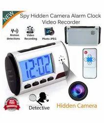 SURYA Hd Spy Digital Table Clock Camera, For Security