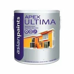 Asian Paints High Sheen Apex Ultima Weather Proof Exterior Emulsion Paint, Packaging Type: Bucket