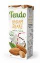 Tendo Milkshake Almond(badam) Coconut Milkshakes, Packaging Type: Tetra Pak, 200 Ml