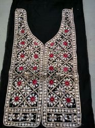 Black Gotta Pati Ladies Dress