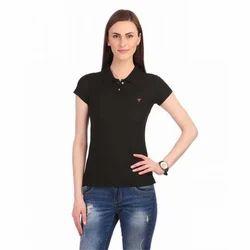 Cotton Ladies Corporate T Shirts