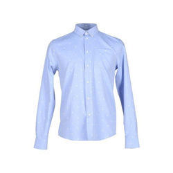 Mens Cotton Printed Formal Shirt, Size: 38 to 44