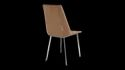 Cafeteria - Sepia Metal Dining Chair