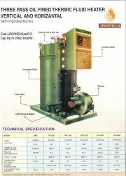 Oil Gas Fired Vertical Thermic Fluid Heater