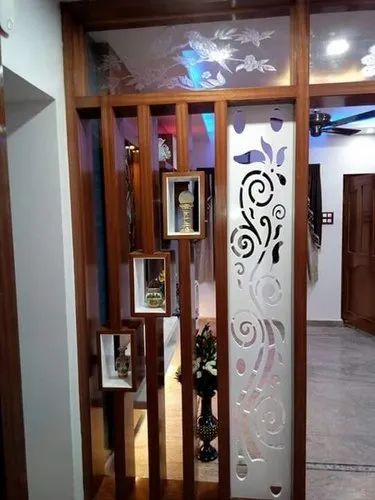 Wood Drawing Hall Partition for Home, Rs 9500 /unit M/s ...