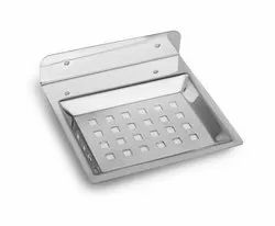 Stainless Steel Square Soap Dish Holder