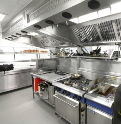 Steel Fabrication Stainless Steel Commercial Kitchen Equipment & Setup