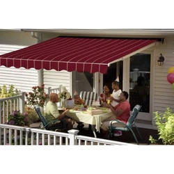 awnings motorized retractable awning alberta edmonton