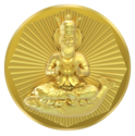 B - Jhulelal Panchdhatu Coin