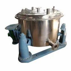 Industrial Centrifuge Machine, Capacity: 10-600kg