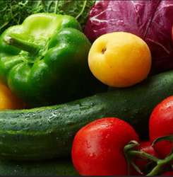 Red And Yellow Fresh Vegetables