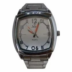 Saint Silver Mens Fashion Wrist Watches, Model Number: Segs, Silver
